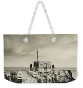 The Fishermen's Hut Weekender Tote Bag by Marco Oliveira