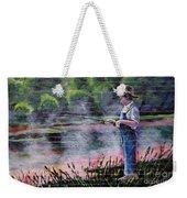 The Fishing Boy Weekender Tote Bag