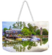 The Fishing Village Weekender Tote Bag