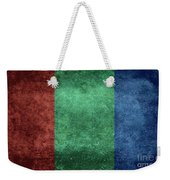 The Flag Of The Planet Mars Weekender Tote Bag