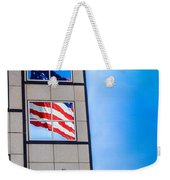 The Flag That Never Hides Weekender Tote Bag