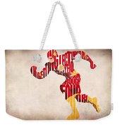 The Flash Weekender Tote Bag