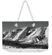 The Flatirons Weekender Tote Bag