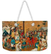 The Flight Out Of Egypt Weekender Tote Bag
