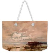 The Flood In The Darling 1890 Weekender Tote Bag