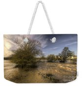 The Floods At Stoke Canon  Weekender Tote Bag
