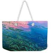 The Flow - Paint Weekender Tote Bag