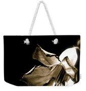 The Flower Fadeth Weekender Tote Bag
