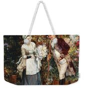 The Flower Girl Weekender Tote Bag