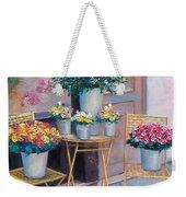 The Flower Shop Paris Weekender Tote Bag