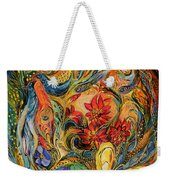 The Flowers Of Holy Land Weekender Tote Bag