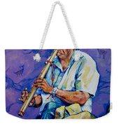 The Flute Player Weekender Tote Bag