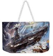 The Flying Submarine Weekender Tote Bag