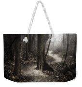 The Foggy Path Weekender Tote Bag by Scott Norris