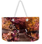 The Followed Rabbit  Weekender Tote Bag