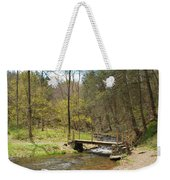 The Foot Bridge Weekender Tote Bag