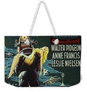 The Forbidden Planet Vintage Movie Poster Weekender Tote Bag