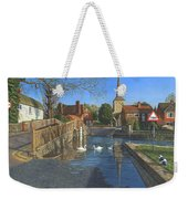 The Ford At Eynsford Kent Weekender Tote Bag