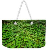 The Forest Floor Weekender Tote Bag