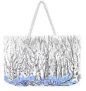The Forest For The Trees An Aceo Weekender Tote Bag