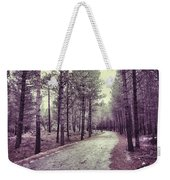 The Forest Road Retro Weekender Tote Bag