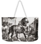 The Forge, From Etudes De Cheveaux, 1822 Weekender Tote Bag