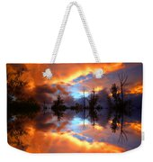 The Forgotten Sunset Weekender Tote Bag
