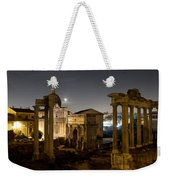 The Forum Temples At Night Weekender Tote Bag