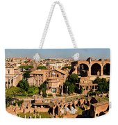 The Forum From The Palatine Weekender Tote Bag