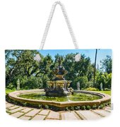 The Fountain - Iconic Fountain At The Huntington Library. Weekender Tote Bag