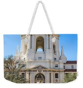 The Fountain - The Beautiful Pasadena City Hall. Weekender Tote Bag