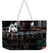The Fountain And The Teapot Weekender Tote Bag