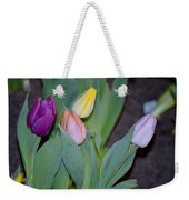 The Four Colours Weekender Tote Bag