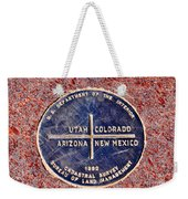 The Four Corners Weekender Tote Bag