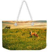 The Fox And The Cow Weekender Tote Bag