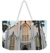 Charleston French Huguenot Church Weekender Tote Bag