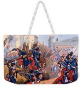 The French Legion Storming A Carlist Weekender Tote Bag