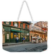 The French Quarter Weekender Tote Bag