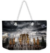 The Friendship Fountain Moscow Weekender Tote Bag