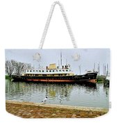 The Friesland In Enkhuizen Harbor-netherlands Weekender Tote Bag