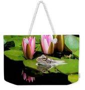 The Frog Weekender Tote Bag