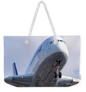 The Front Office Lufthansa Airbus A-380 Weekender Tote Bag