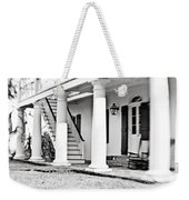 The Front Porch - Bw Weekender Tote Bag