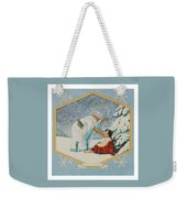 The Frost King Weekender Tote Bag
