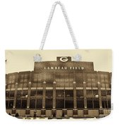 The Frozen Tundra Weekender Tote Bag by Tommy Anderson