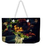 The Fruit Seller - New York City Street Scene Weekender Tote Bag