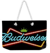 The Funky King Of Bud Weekender Tote Bag