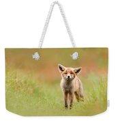 The Funny Fox Kit Weekender Tote Bag