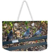 The Gals Chat While Harry Sulks Weekender Tote Bag