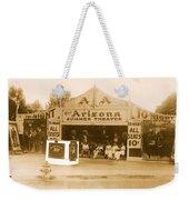 The Gamblers 1914 Lubin The Arizona Summer Theater Tent Tucson Arizona 1914-2008 Weekender Tote Bag